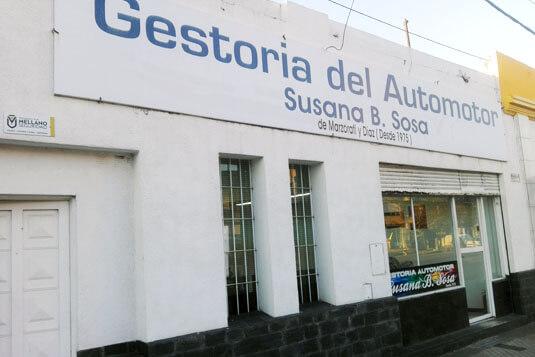 Oficinas en Rosario - Gestoria del automotor Susana B. Sosa